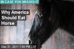 Why America Should Eat Horse