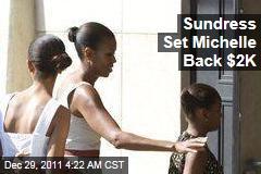 Sundress Set Michelle Back $2K