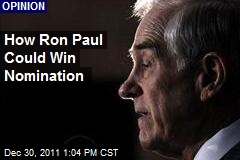 How Ron Paul Could Win Nomination