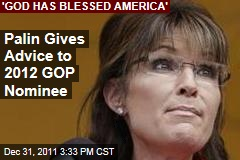 Sarah Palin Advises 2012 Republican Candidate on Energy Independence