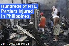 Hundreds Hurt During New Year's Eve Celebrations in Philippines Despite Official Campaign