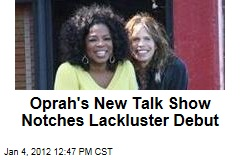 'Oprah's Next Chapter' Debuts to an Audience of 1.1M on the Oprah Winfrey Network