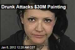 Drunk Attacks $30M Clyfford Still Painting