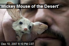 'Mickey Mouse of the Desert'