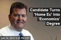 GOP Candidate Fixes 'Home Ec' Flub on Resume