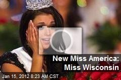 New Miss America: Miss Wisconsin