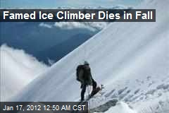 Ice Climber Jack Roberts Dies in Fall