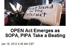 OPEN Act Emerges as SOPA, PIPA Take a Beating