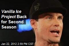 Vanilla Ice Project Back for 2nd Season