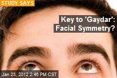 Key to 'Gaydar': Facial Symmetry?