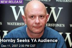 Hornby Seeks YA Audience