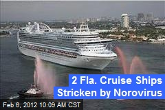 2 Fla. Cruise Ships Stricken by Norovirus