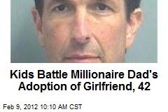 Kids Battle Millionaire Dad's Adoption of Girlfriend, 42