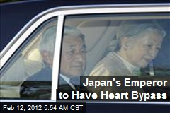 Japan's Emperor to Have Heart Bypass