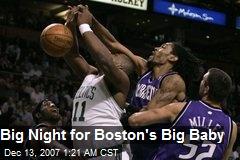 Big Night for Boston's Big Baby