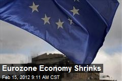 Eurozone Economy Shrinks