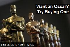 Want an Oscar? Try Buying One