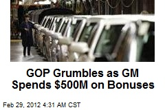 GM to Spend $500M on Worker Bonuses