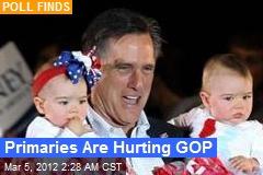Primaries Are Hurting GOP
