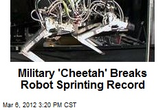 Military 'Cheetah' Breaks Robot Sprinting Record