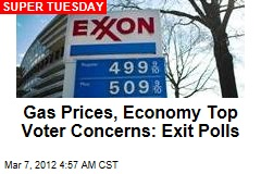Economy, Gas Prices Top Voter Concerns