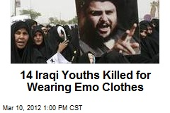 14 Iraqi Youths Killed for Wearing Emo Clothes