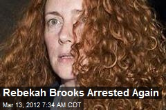 Brooks, 5 Others Arrested in Phone Hacking Inquiry