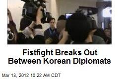 Fistfight Breaks Out Between Korean Diplomats