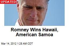 Romney Wins Caucus in American Samoa