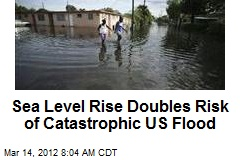 Sea Level Rise Doubles Risk of Catastrophic US Flood