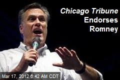 Chicago Tribune Endorses Romney