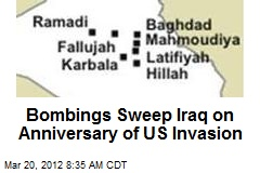 Bombings Sweep Iraq on Anniversary of US Invasion