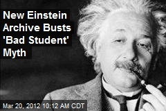 New Einstein Archive Busts 'Bad Student' Myth