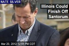 Illinois Could Finish Off Santorum