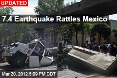7.6 Earthquake Rattles Mexico City