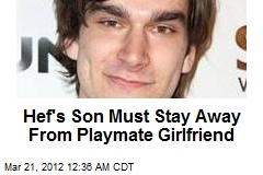 Hef's Son Gets Chill Classes in Playmate Beating Case