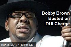 Bobby Brown Busted on DUI Charge