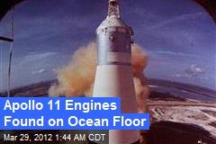 Apollo 11 Engines Found on Ocean Floor