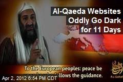 Online Al-Qaeda Forums Offline for 11 Days