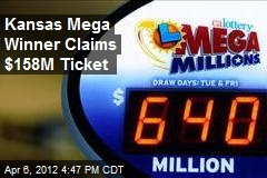Kansas Mega Winner Claims $158M Ticket