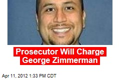 Prosecutor Will Charge George Zimmerman: Report