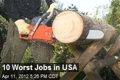 10 Worst Jobs in USA