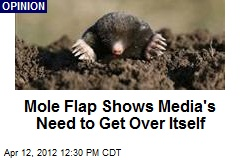 Mole Flap Shows Media's Need to Get Over Itself