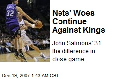 Nets' Woes Continue Against Kings
