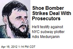 Shoe Bomber Strikes Deal With Prosecutors