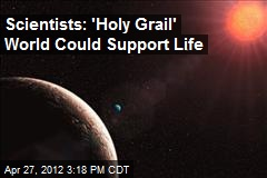 Scientists Find 'Holy Grail' World That Could Support Life