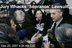 Jury Whacks 'Sopranos' Lawsuit