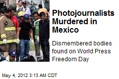 3 Photojournalists Murdered in Mexico