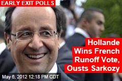 Hollande Winning French Runoff Election