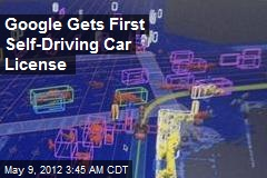 Google Gets First Self-Driving Car License